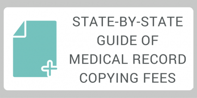 state by state guide of medical record copying fees medicopy