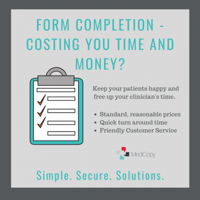 forms cost