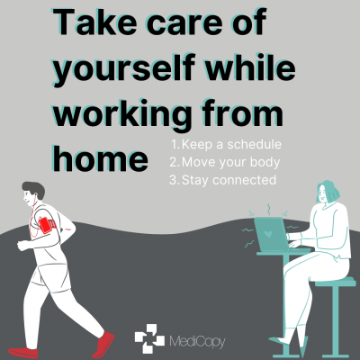 Take Care of Yourself While Working From Home